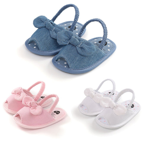 Bow Baby Slippers