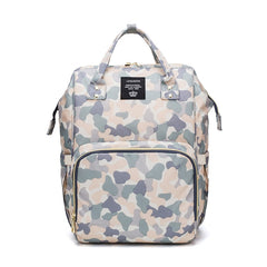 Pastel Camo Diaper Backpack