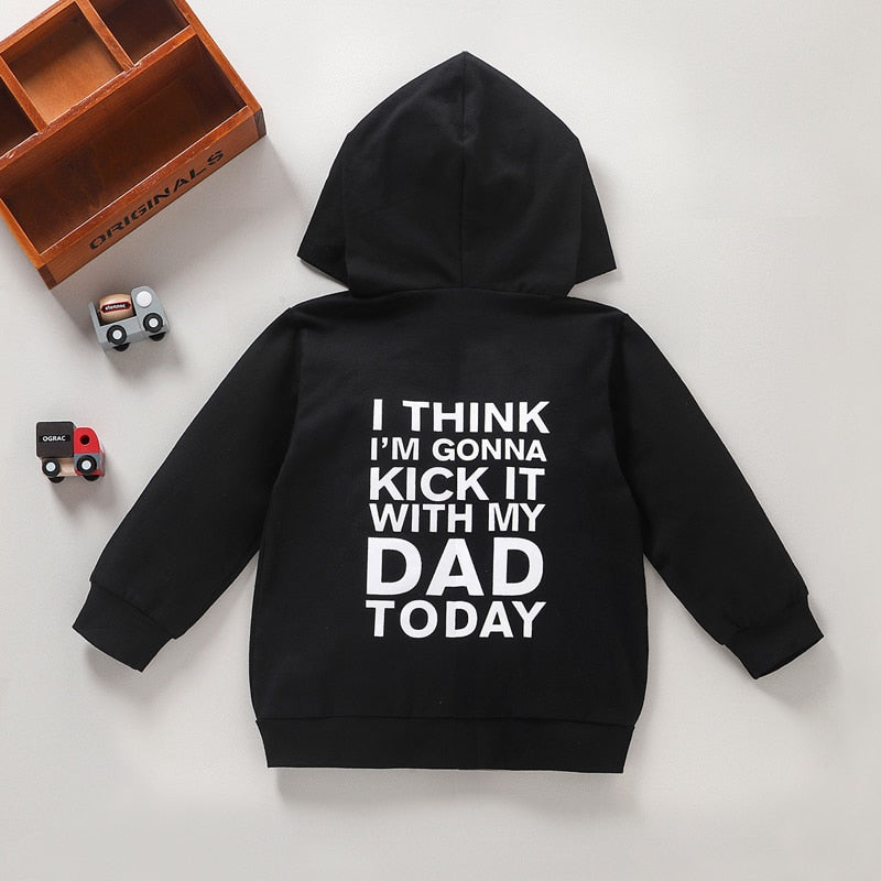 Kick It With Dad Hoodie