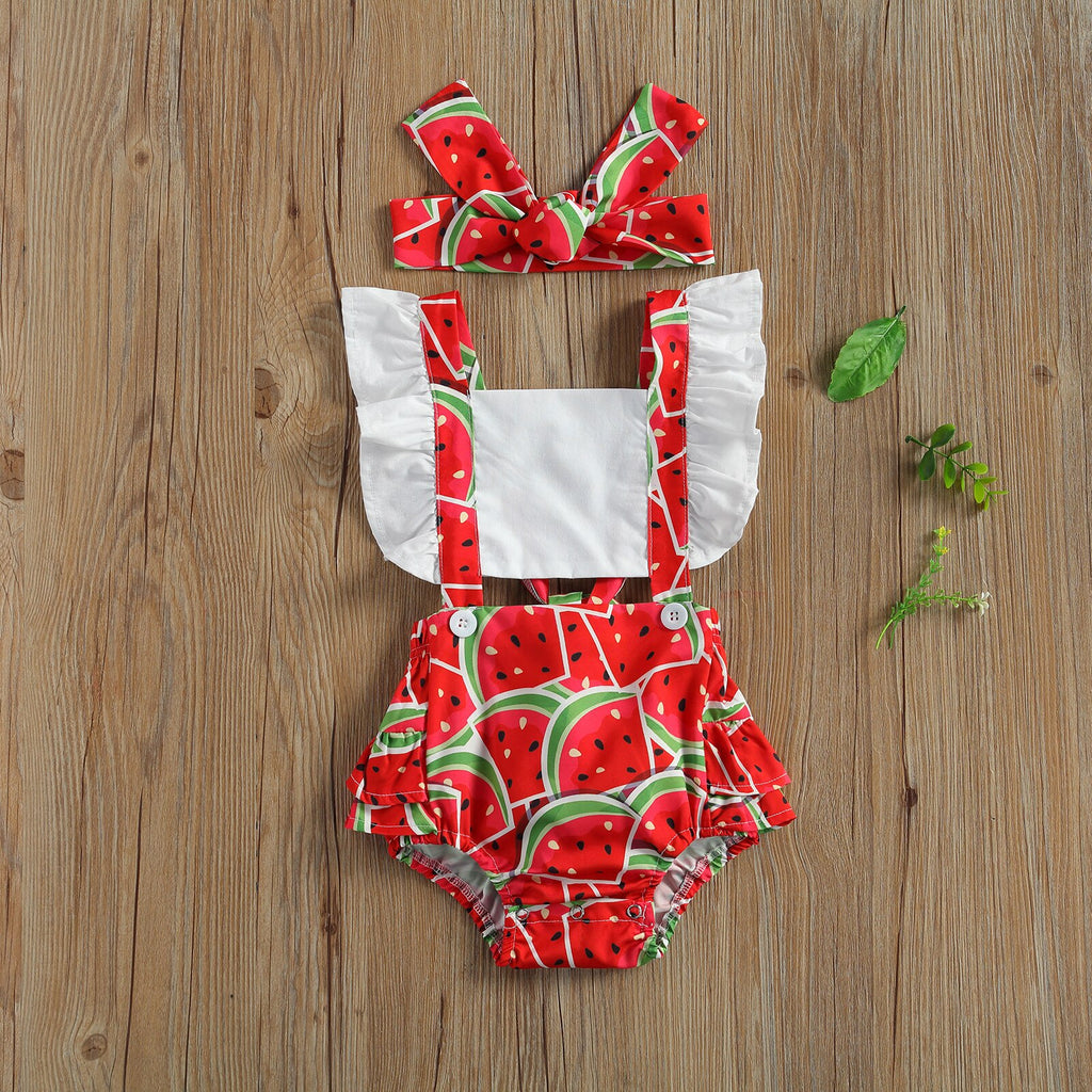 Fruity Ruffle Summer Set
