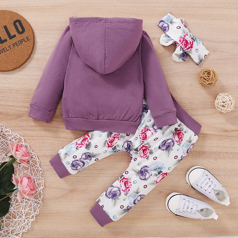 Sassy Pants Hooded Set