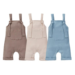 Pocket Casual Overalls