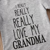 Image of Love My Grandma Onesie