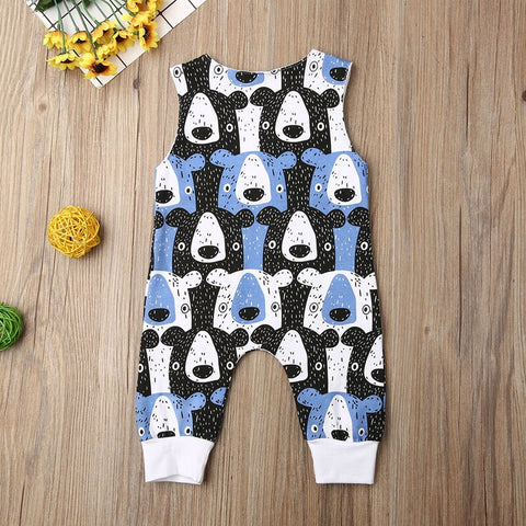Fun Bear Romper