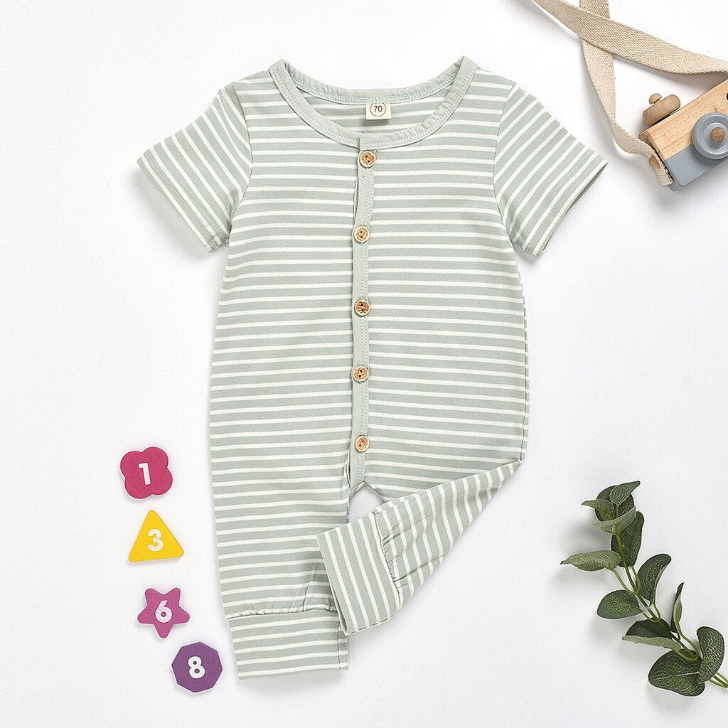 Nick Striped Romper