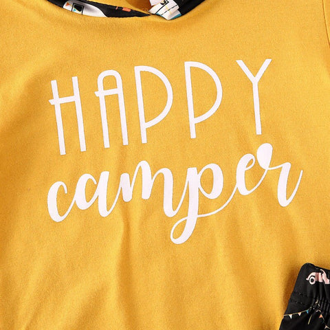 Happy Camper Hooded Set