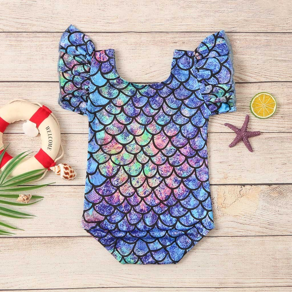 Rainbow Mermaid Swimsuit - 4 designs