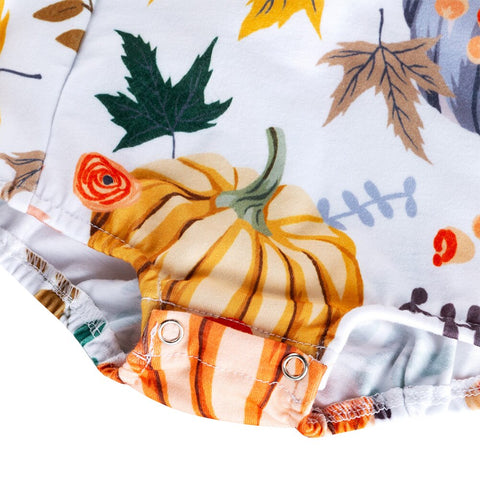 Ruffle Pumpkin Set
