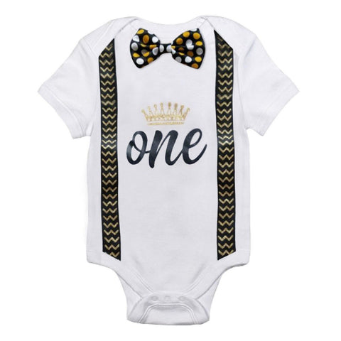 First Birthday Romper - 9 designs