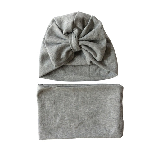 Big Bow Hat & Scarf