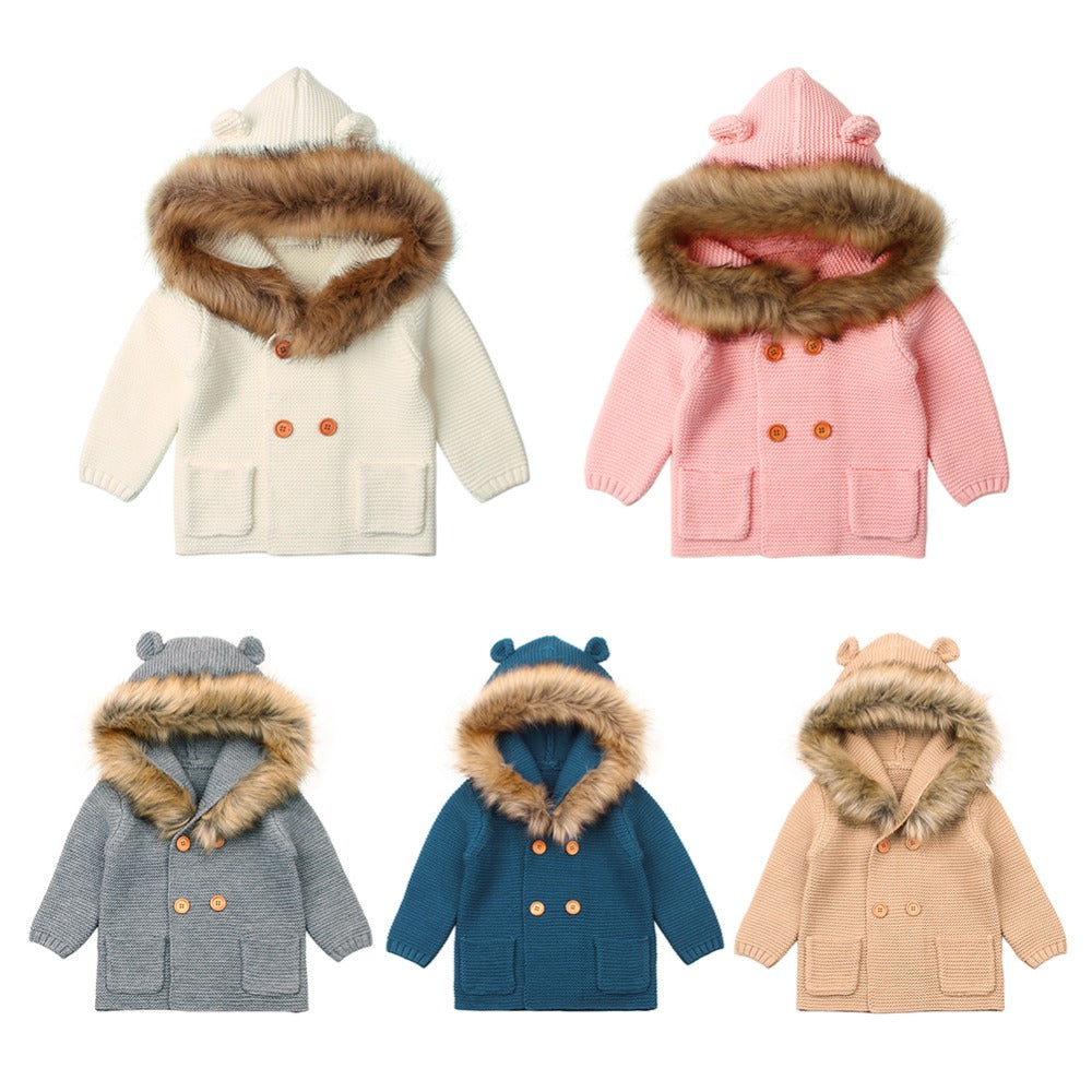Trendy Fur Baby Coat