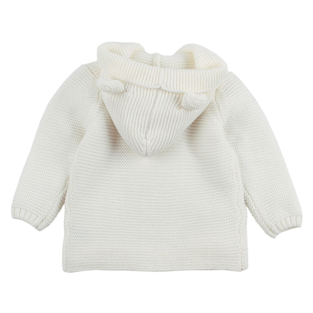 Trendy Knitted Baby Coat