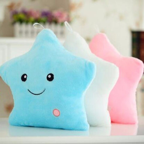 Soft Star Pillow with Led Light