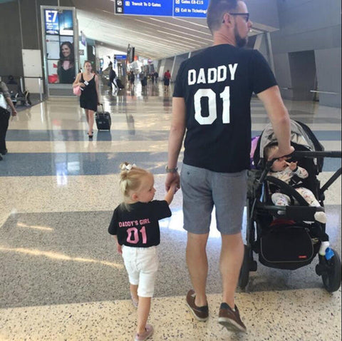 Daddy & Daddy's Girl Matching T-shirts