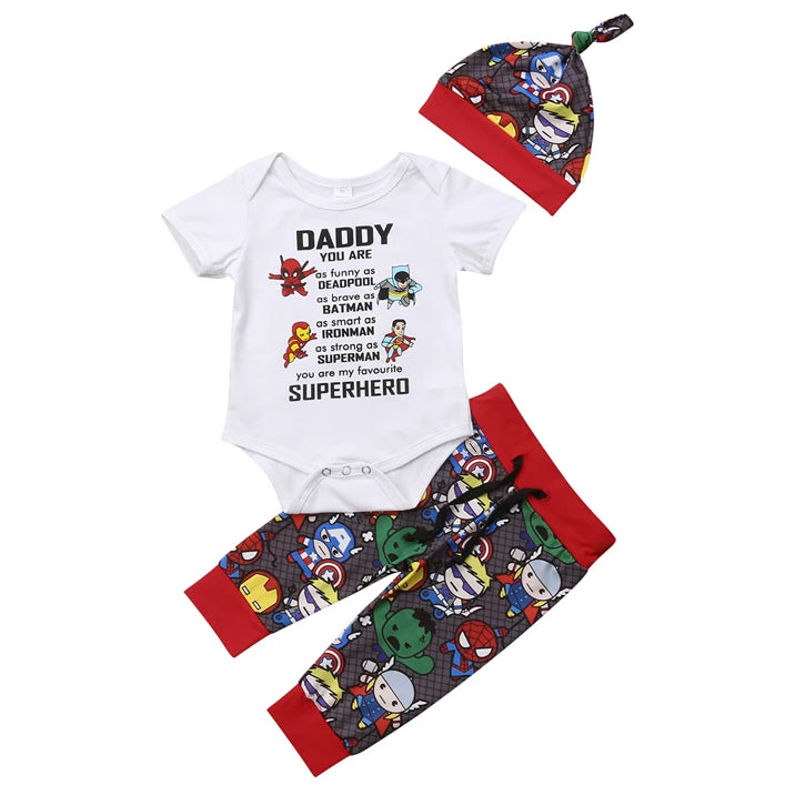 Daddy Superhero Set