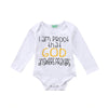 Image of God Answers Prayers Onesie