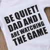 Image of Watching The Game Onesie