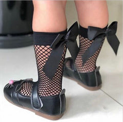 Fishnet Baby Socks