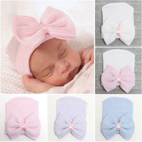 Newborn Bow Hat