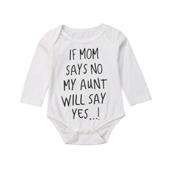 Aunt Say Yes Onesie