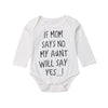 Image of Aunt Say Yes Onesie