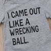 Image of Wrecking Ball Onesie