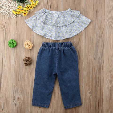 Bess Denim Set
