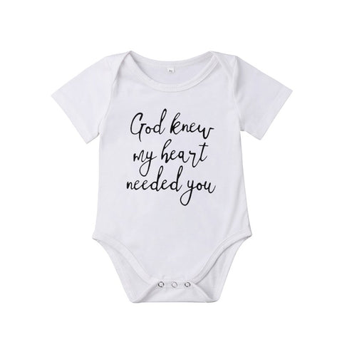 God Knew Onesie