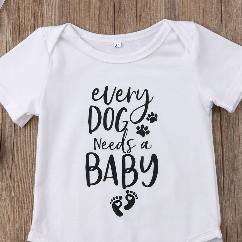 Dog Needs Baby Onesie