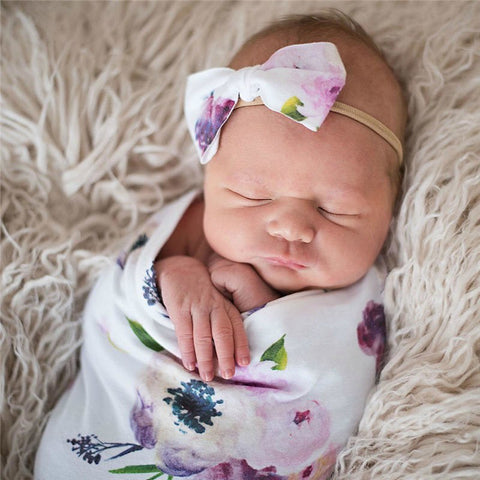 Newborn Swaddle Set - 6 designs