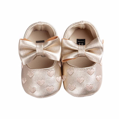 Heart Baby Shoes