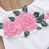 Image of Pink Rose Denim Set