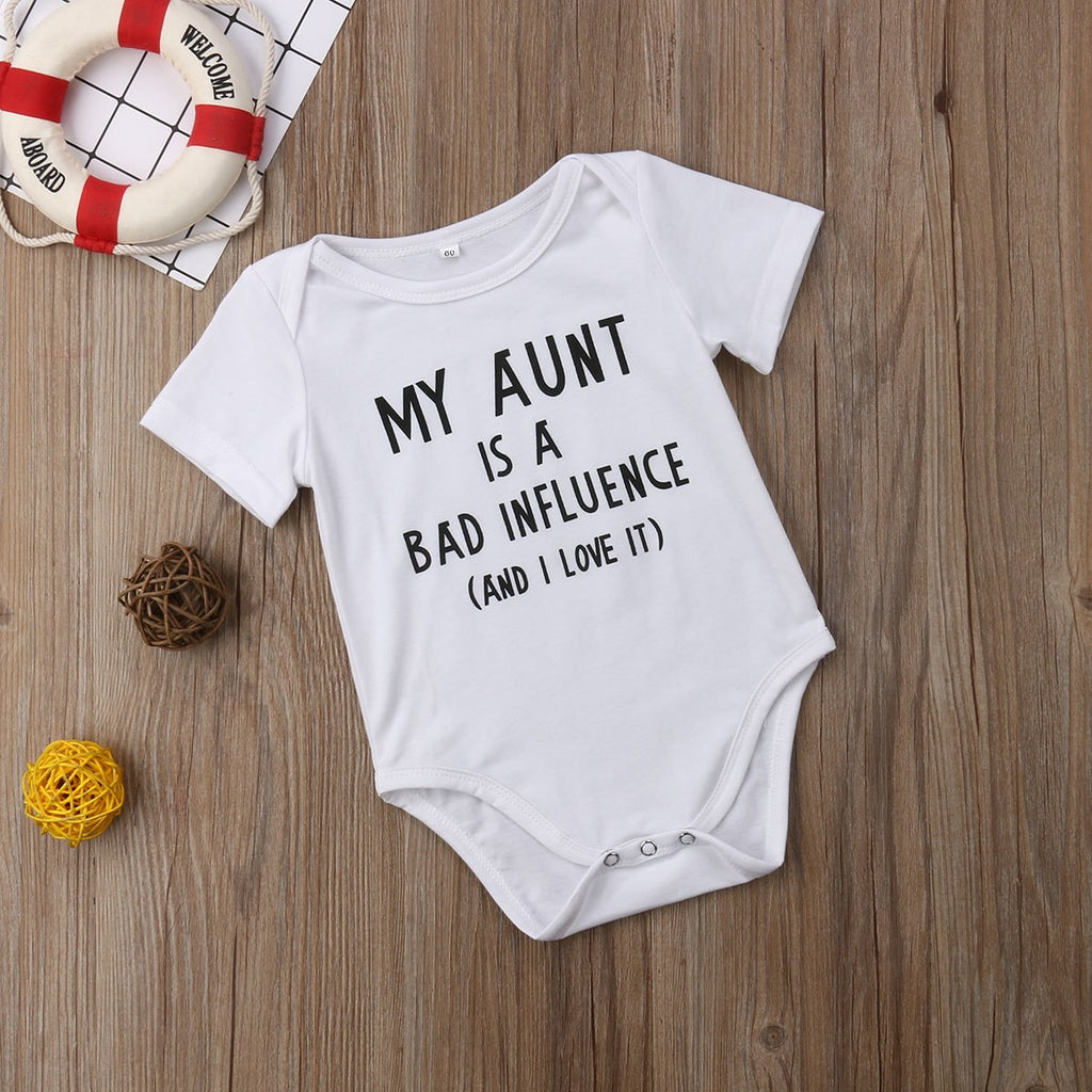 Aunt Influence Onesie