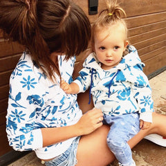 Mother and Baby Matching Sweatshirt