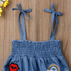 Trendy Denim Playsuit