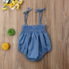 Image of Trendy Denim Playsuit