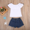 Image of Rose Denim Set