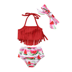 Watermelon Baby Bikini Set
