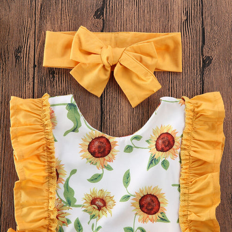 Monica Sunflower Set