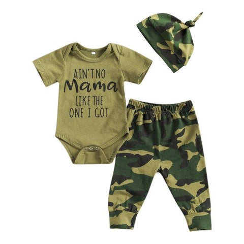 Ain't No Family Camo Set