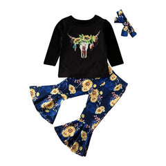 Buffalo Sunflower Set
