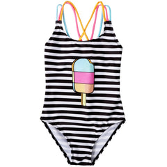 Rainbow Ice Cream Swimsuit