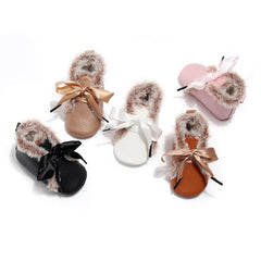 Fur Baby Shoes