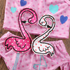 Image of Flamingo Love Swimsuit
