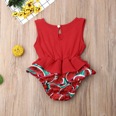 Toni Watermelon Playsuit