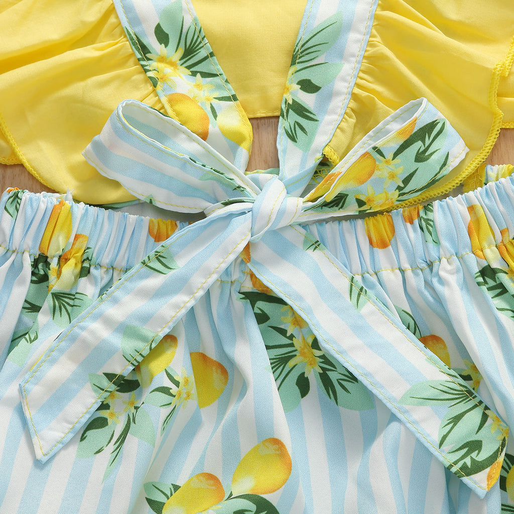 Sweet Lemon Playsuit