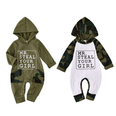 Steal Your Girl Hooded Romper