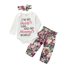 Parent's World Floral Set