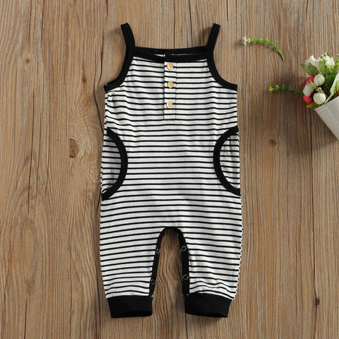 Parker Striped Romper