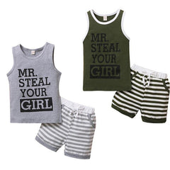 Steal Your Girl Striped Set